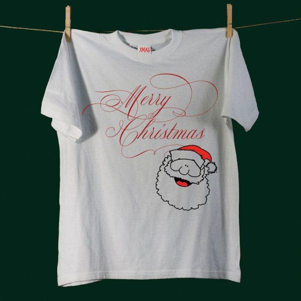 Kerstkaart t-shirt